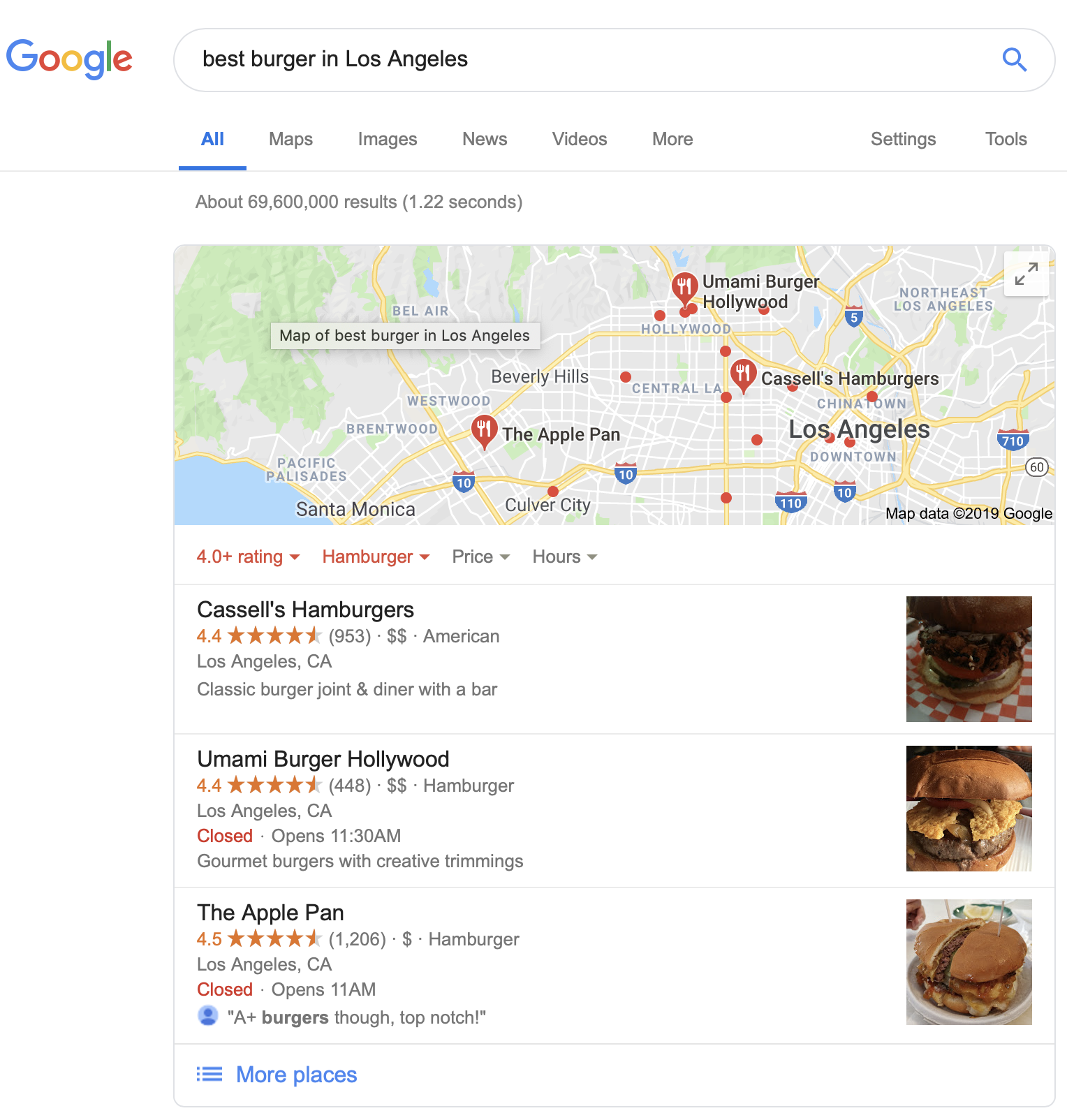 best burger in los angeles