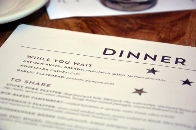 Refresh Your Menu this Fall: Ideas to Spark Your Restaurant Menu Design