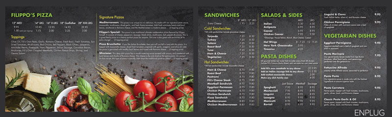 Reasons Why Restaurant Menu Boards Are Important - Restaurant menu board templates